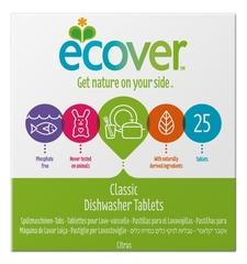 Таблетки ECOVER для посудомоечных машин, 500 гр. без фосфатов