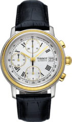 Наручные золотые часы Tissot T-Gold Bridgeport T71.0.427.33
