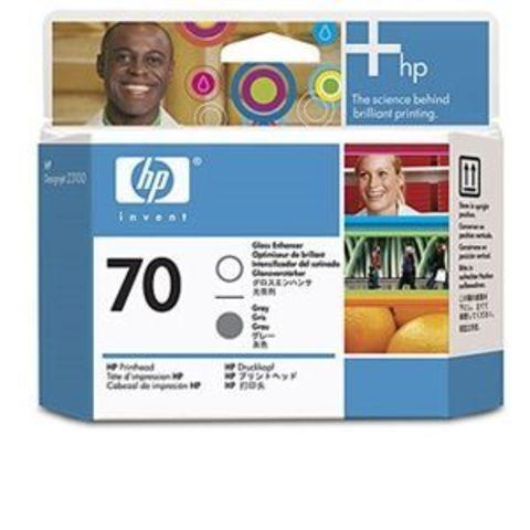 Печатающая головка №70 для HP DesignJet Z3100/Z3200 усилитель глянца и серый (C9410A)