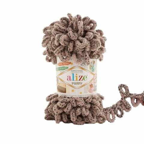 Купить Пряжа Alize Puffy Код цвета 673 Голубь | Интернет-магазин пряжи «Пряха»