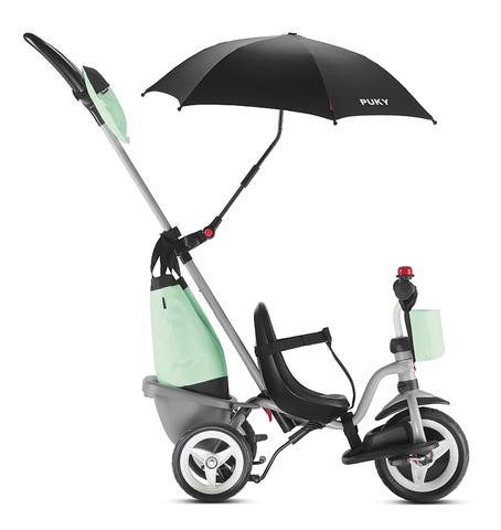 Трехколесный велосипед Puky Ceety Comfort 2440 grey/mint серый/мятный