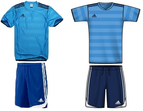 Комплект футболка и шорты Adidas TIRO