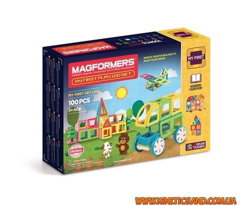 Magformers Мой первый набор, 100 элементов Магформерс