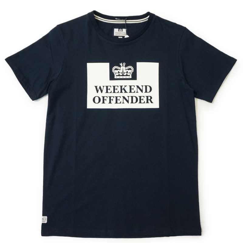 Футболка Weekend Offender Prison Tee navy