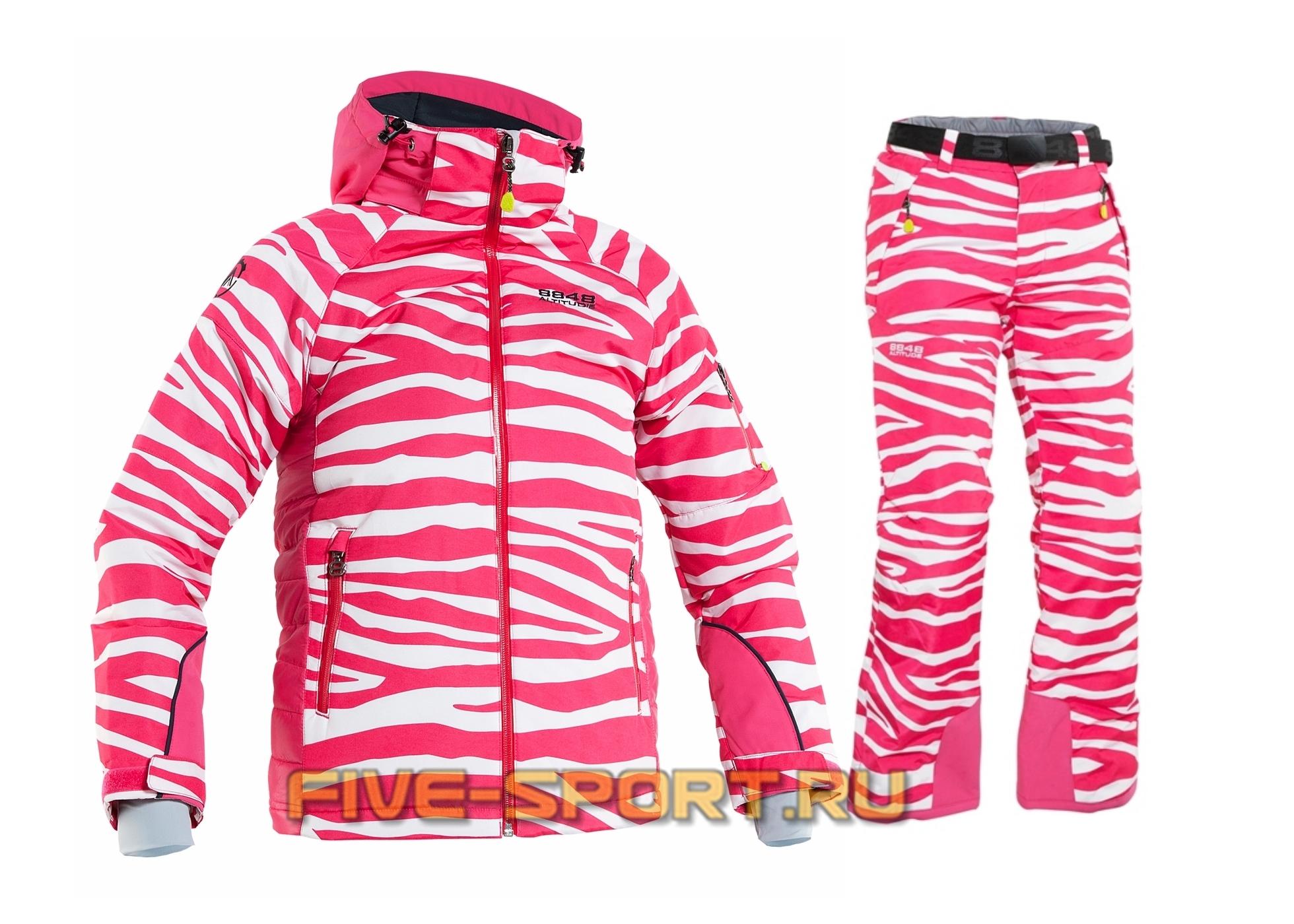 Костюм 8848 Altitude Rosalee/Cornwall cerise zebra  (8561H7-8564H7)