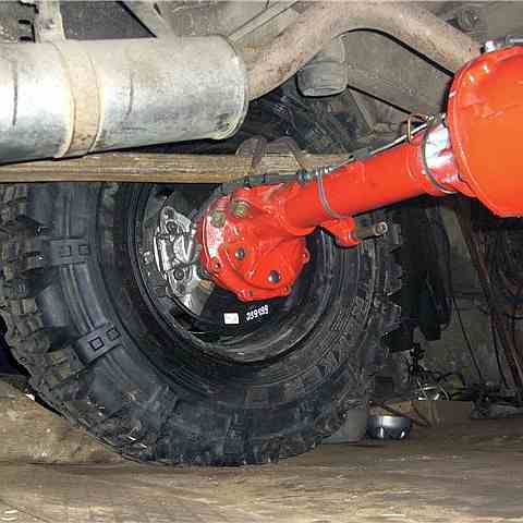 Установка дисковых тормозов на УАЗ Хантер фото-1