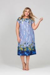 Платье Лазурь Голубой