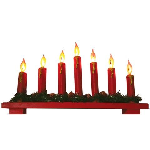 Световая фигура «Алые свечи», LT088 (Feron)