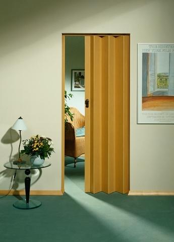 Двери-гармошка Marley без стекла, President