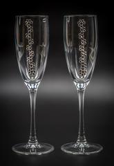 Подарочный набор бокалов для шампанского «Бриллиантовый»