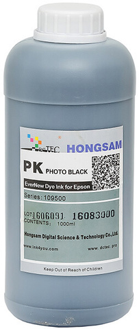 Чернила водные DCTec 7900D Photo black dye 1 л. Серия 109500