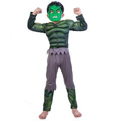 Костюм супергероя Халка с мускулами для мальчика