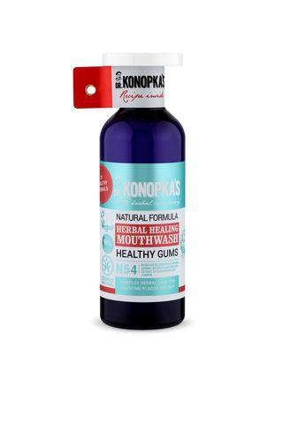Dr.Konopka's Натуральный травяной ополаскиватель для полости рта, 500 мл