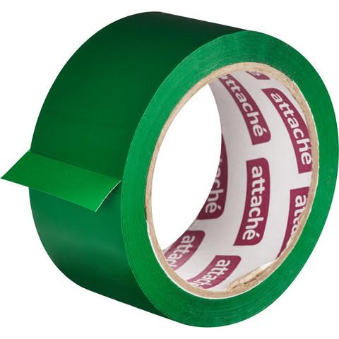 Клейкая лента упаковочная ATTACHE 48мм х 66м 45мкм зеленый