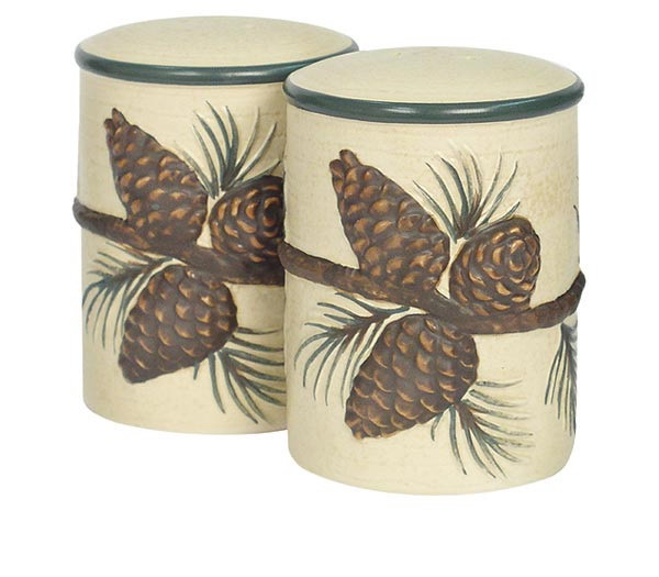 Кухня Набор солонка и перечница Blonder Home Pinecone Lodge nabor-solonka-i-perechnitsa-blonder-home-pinecone-lodge-ssha.jpg