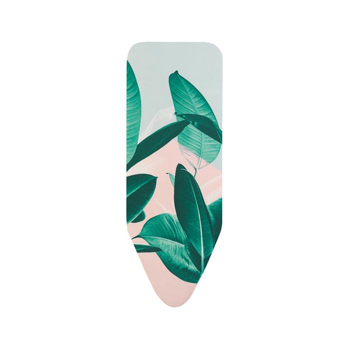 Чехол PerfectFit 124х45 см (C), 4 мм фетра + 4 мм поролона, Тропические листья, арт. 118968 - фото 1