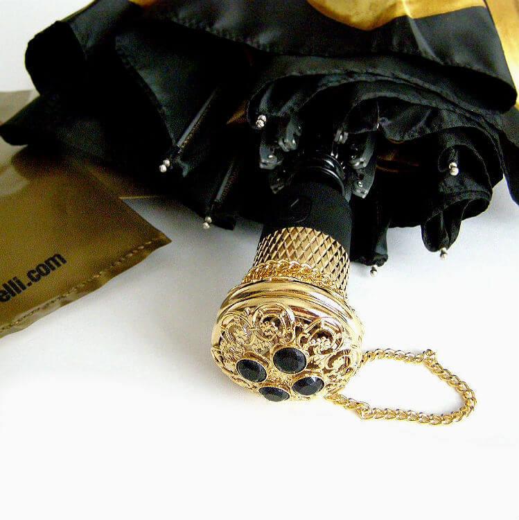 Зонт складной женский Pasotti 21273-6 Golden Astra