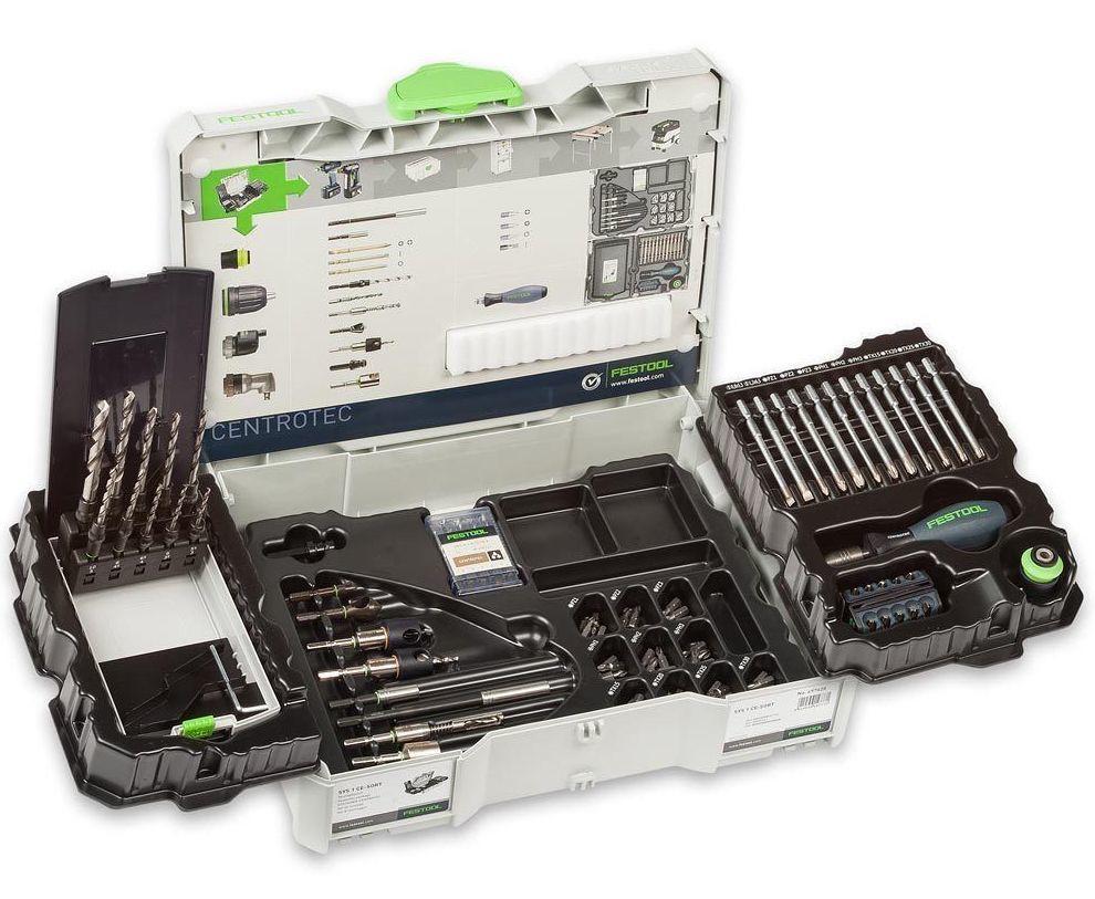 Комплект монтажный в систейнере SYS 1 CE-SORT Festool 497628
