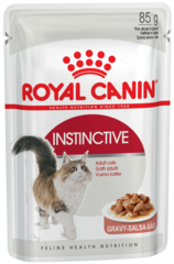 Royal Canin Instinctive влажный корм в соусе для кошек и котов старше 1 года