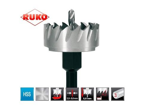 Коронка (сверло корончатое) по металлу Ruko HSS-G 12мм 128012