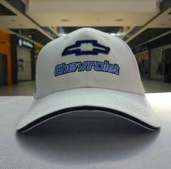 Бейсболка Шевроле белая (Кепка Chevrolet)