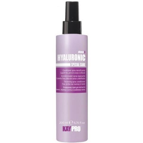 Кондиционер-спрей с гиалуроновой кислотой для плотности волос,KAYPRO ,200 мл