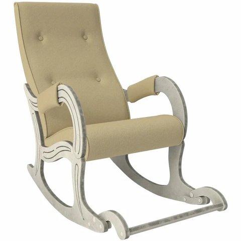 Кресло-качалка Комфорт Модель 707 дуб шампань патина/Malta 03, 013.707