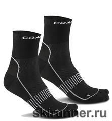 Носки Craft Cool Training - 2 пары (чёрные)