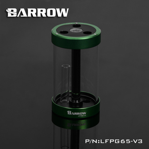 Резервуар Barrow 120MM LFPG65-V3GREEN/BLACK