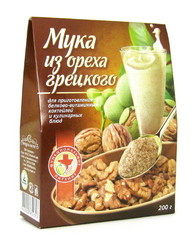 Мука грецкого ореха, Специалист, 200 г.