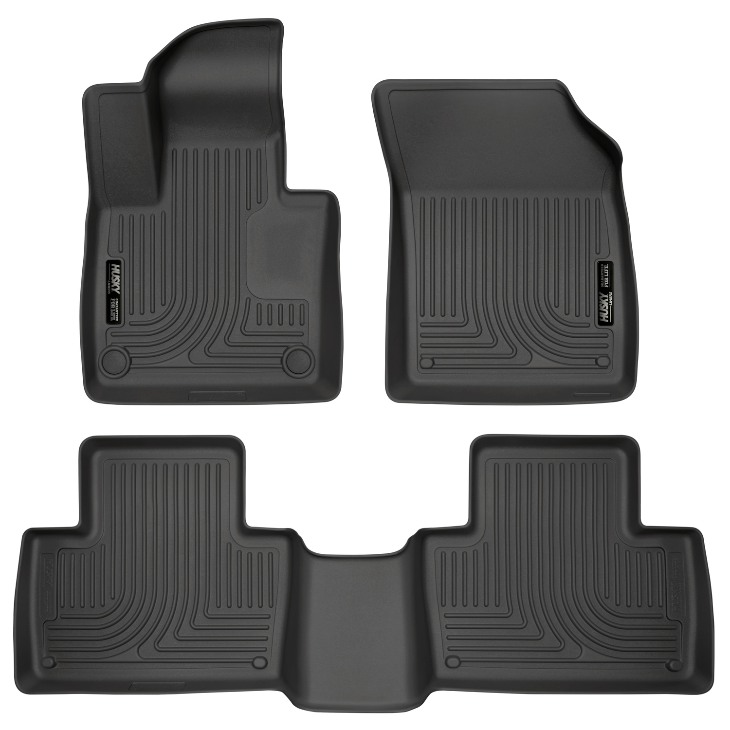 Фото - Коврики салона (резиновые) Husky Liners 95601 для Volvo XC90 2015- 2017 hot sale silicone increased insoles damping insole heel inserts pads gel cushions shoe liners accessories 5 layers 4 1cm