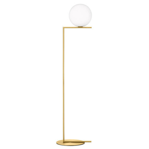 replica FLOS IC F2 BRASS FLOOR LIGHT