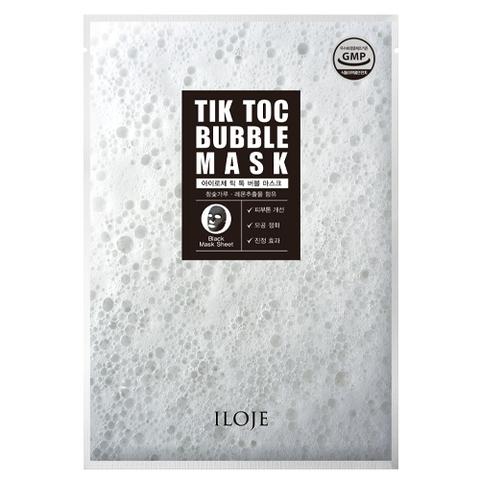 Пузырчатая осветляющая маска для лица TIK TOK Bubble Mask  1 шт.