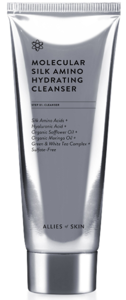 Allies of Skin Molecular Silk Amino Hydrating Cleanser очищающий гель 100мл