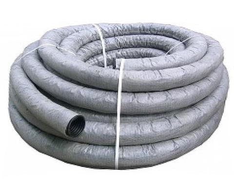 Труба дренажная 110 (геоткань) 1 метр