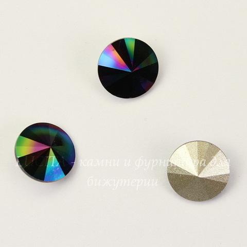 1122 Rivoli Ювелирные стразы Сваровски Crystal Rainbow Dark (SS39) 8,16-8,41 мм