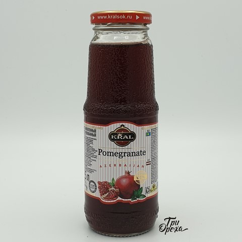 Гранатовый сок Pomegranate Kral, 250 мл
