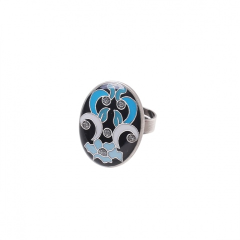 Кольцо Clara Bijoux K74891-1 BL
