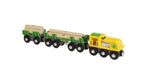 BRIO 33775 Товарный поезд «Лесовоз»