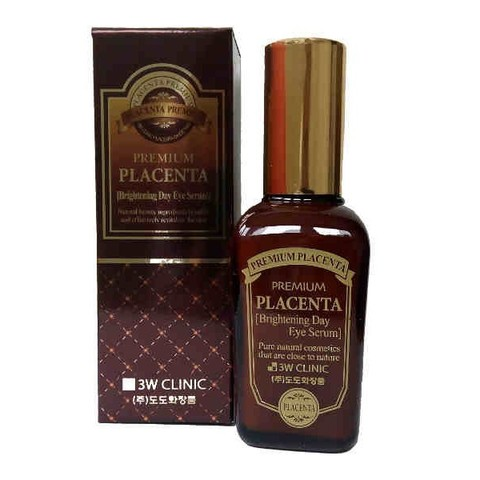 3W CLINIC Сыворотка для век ПЛАЦЕНТА Premium Placenta Brightening Day Eye Serum, 50 мл