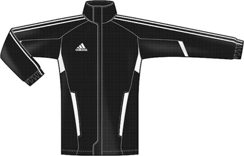 Ветровка Adidas Tiro 11 All Weather Jacket O07640 эскиз