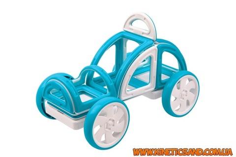 Magformers Мой первый автомобиль Голубой. Магформерс магнитный конструктор