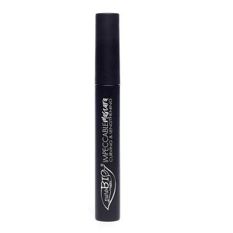 PuroBio - Тушь для ресниц удлиняющая (черная) 7 мл / MASCARA black - Impeccable – curving and lengthening