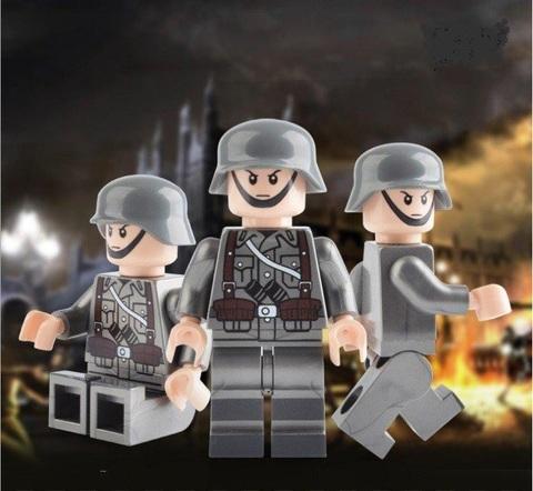Минифигурки Военных Немецкий солдат серия 386