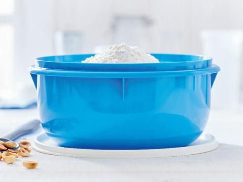 замесочное блюдо 3л в синем цвете