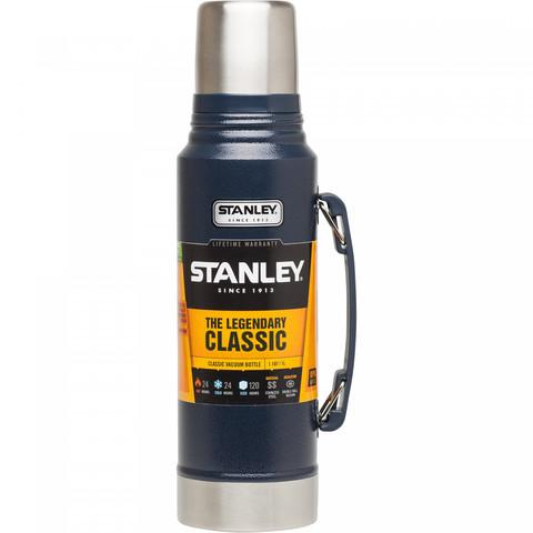 Термос Stanley Classic Vacuum, 1л, темно-синий