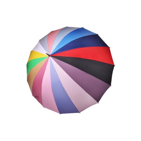 Зонт женский радужный трость три слона АРТ 2450