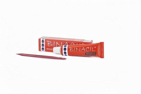 BINACIL Краска для бровей и ресниц Иссиня-чёрный, 15мл
