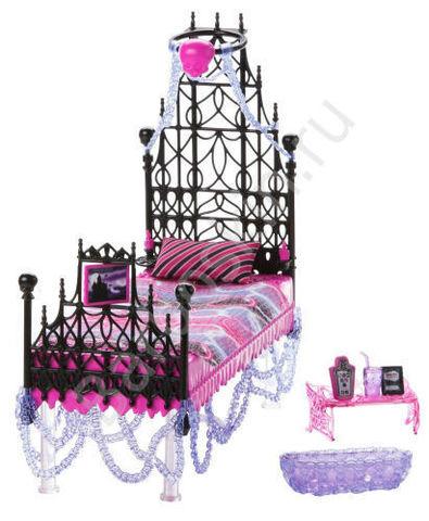 Игровой набор Monster High Кровать Спектры Вондергейст (Spectra Vondergeist)