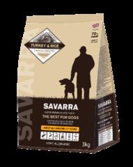 Корм для собак SAVARRA Adult Dog Turkey с индейкой и рисом